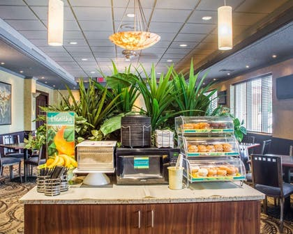 Assorted breakfast items   Quality Inn & Suites Riverfront