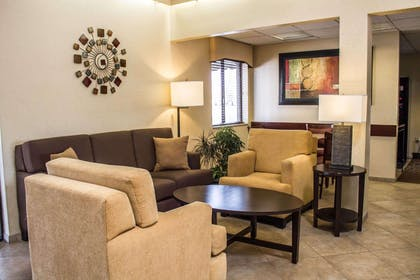Lobby with sitting area | Comfort Inn East