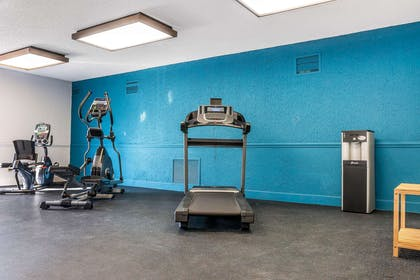 Fitness center | The Blu Hotel, an Ascend Hotel Collection Member
