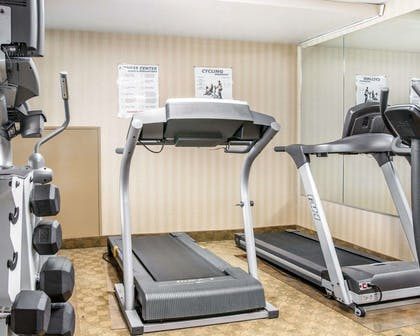 Fitness center with free weights | Comfort Inn & Suites Maumee - Toledo (I80-90)
