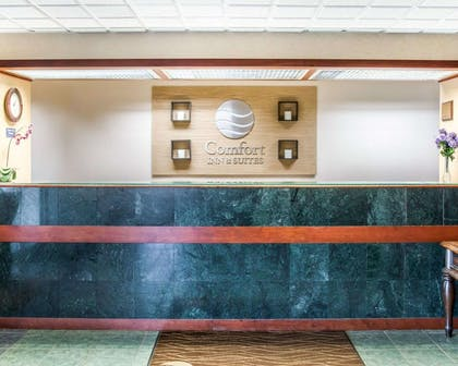 Front desk with friendly staff | Comfort Inn & Suites Maumee - Toledo (I80-90)
