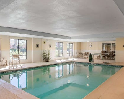 Indoor pool | Comfort Inn & Suites West Chester - North Cincinnati