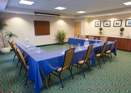 Meeting room with u-shaped setup | Comfort Inn & Suites West Chester - North Cincinnati