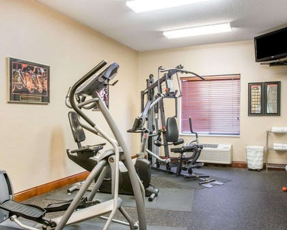 Fitness center | Comfort Inn & Suites West Chester - North Cincinnati