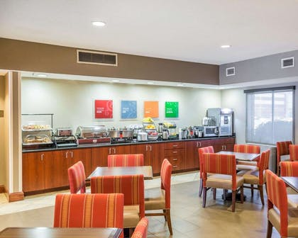 Spacious breakfast area | Comfort Inn & Suites West Chester - North Cincinnati