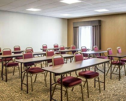Meeting room with classroom-style setup | Comfort Suites Perrysburg - Toledo South