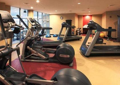The Refresh area offers a state-of-the-art fitness center | Cambria Hotel Columbus - Polaris