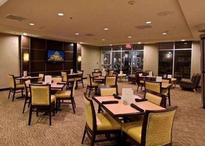 The Reflect dinner menu ranges from burgers to crab cakes plus Cheesecake Factory desserts and a full-service bar | Cambria Hotel Columbus - Polaris