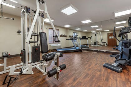Exercise room with cardio equipment | Comfort Inn