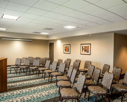 Meeting room with theater-style setup | Comfort Suites Cincinnati North
