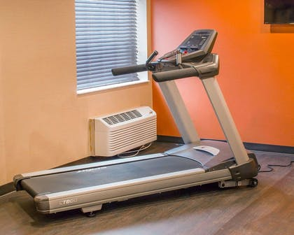 Fitness center with cardio equipment | Comfort Inn Mayfield Heights Cleveland East