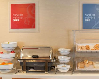 Assorted breakfast items | Comfort Inn Mayfield Heights Cleveland East