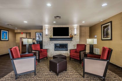 Lobby with sitting area | Comfort Inn & Suites Dayton North