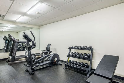 Fitness center | Comfort Inn & Suites Dayton North