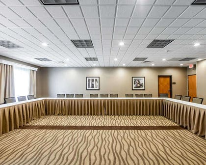 Large space perfect for corporate functions or training | Comfort Suites Marietta-Parkersburg