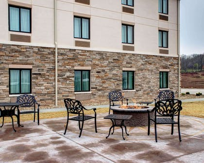 Relax on the sundeck | Comfort Inn & Suites