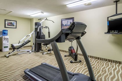 Exercise room | Quality Inn & Suites North Lima - Boardman