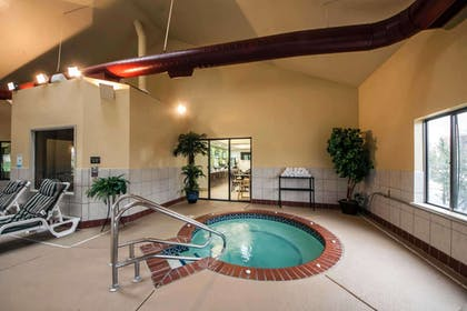 Indoor pool with hot tub | Sleep Inn & Suites Central/I-44