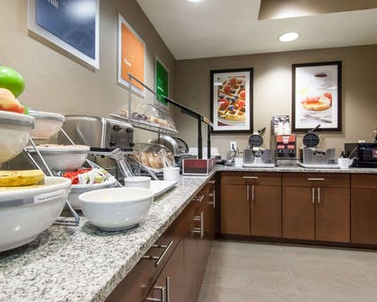 Assorted breakfast items | Comfort Suites Central/I-44