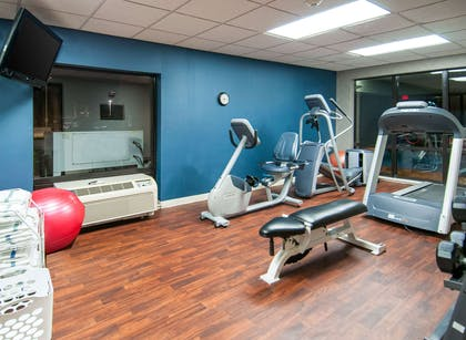 Fitness center | Comfort Inn & Suites Pauls Valley - City Lake
