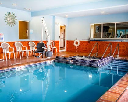 Indoor pool | Sleep Inn & Suites Oklahoma City Northwest