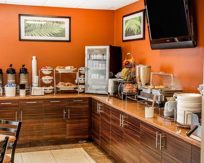 Assorted breakfast items | Sleep Inn & Suites Oklahoma City Northwest