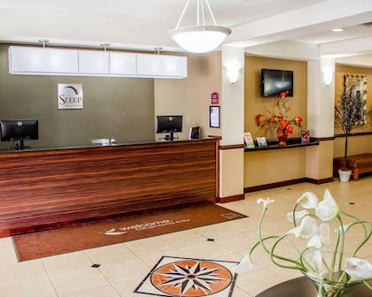 Front desk | Sleep Inn & Suites Oklahoma City Northwest