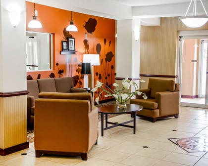 Spacious suite with sitting area | Sleep Inn & Suites Oklahoma City Northwest
