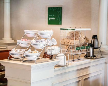Breakfast area in the lobby | Comfort Suites McAlester