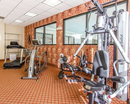 Fitness center | Comfort Inn & Suites Shawnee North near I-40