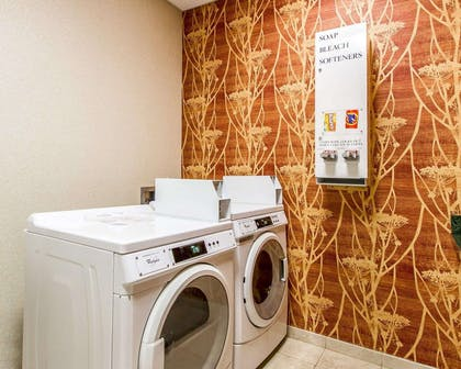 Guest laundry facilities | Comfort Inn & Suites Shawnee North near I-40