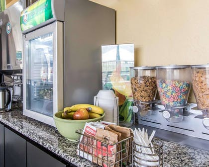 Assorted breakfast items | Quality Inn & Suites Fairgrounds West