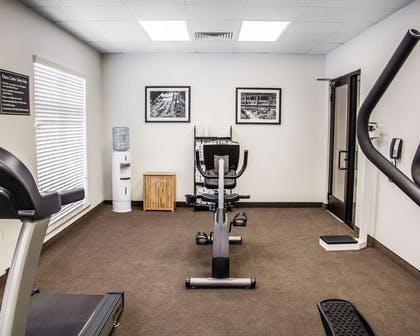 Exercise room with cardio equipment | Sleep Inn & Suites Blackwell I-35