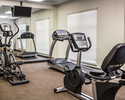Exercise room with television | Sleep Inn & Suites Blackwell I-35